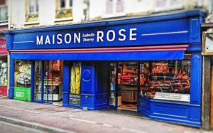 Boulangerie rose
